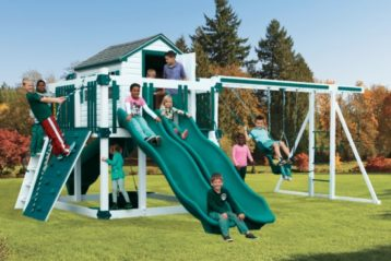 One of our wood playsets for sale in West Palm Beach, FL